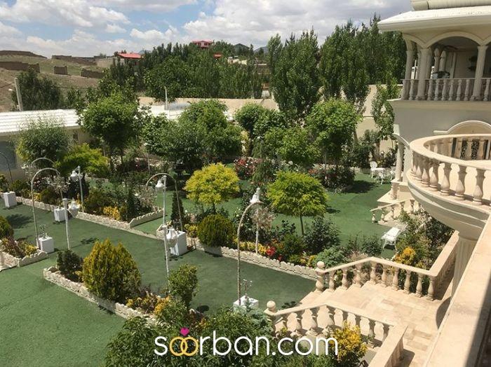 باغ عمارت آنیت در بومهن تهران2