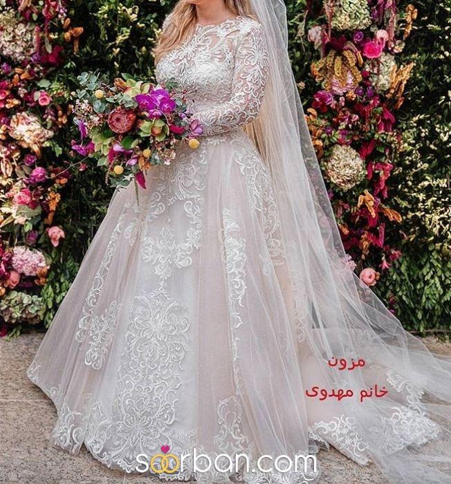 مزون لباس عروس خانم مهدوی تهران2