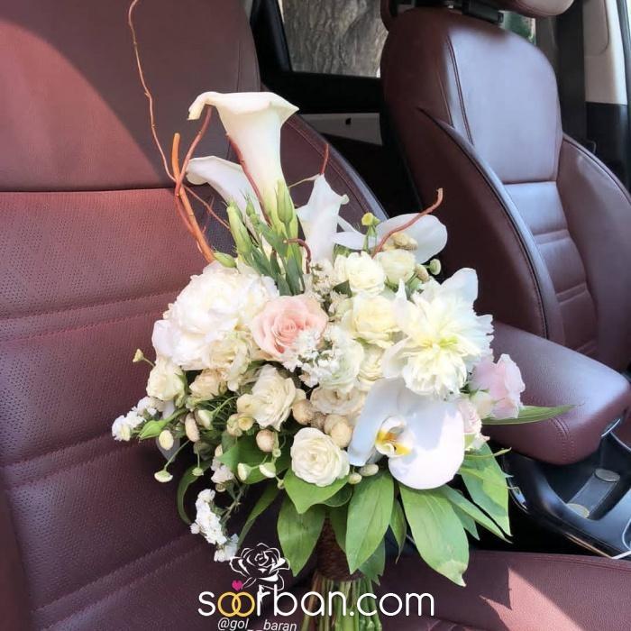 انواع دسته گل عروس خرم اباد0