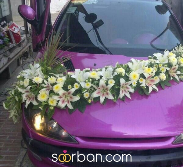 تزیین ماشین عروس در مشهد2
