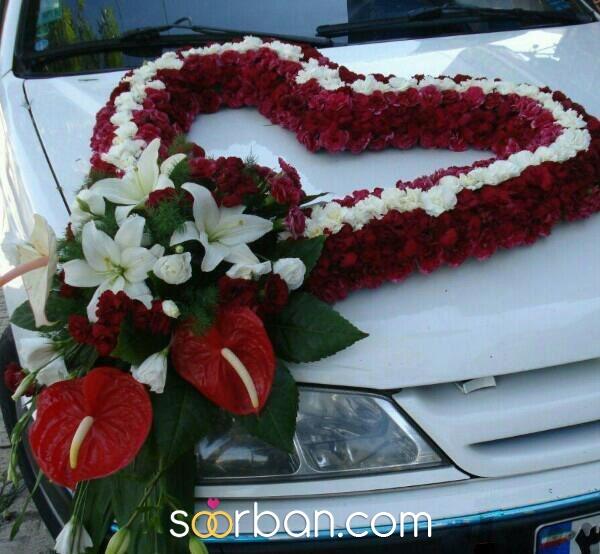 تزیین ماشین عروس در مشهد0
