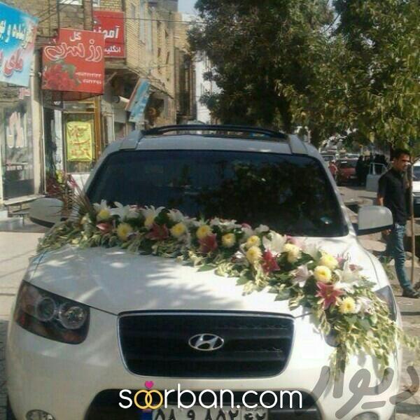 تزیین ماشین عروس در مشهد1