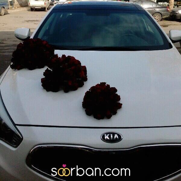 گل آپادانا ماشین و دسته گل عروس مشهد2
