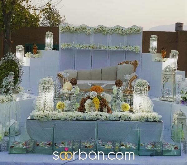 جایگاه عروس و داماد و سفره عقد در شیراز