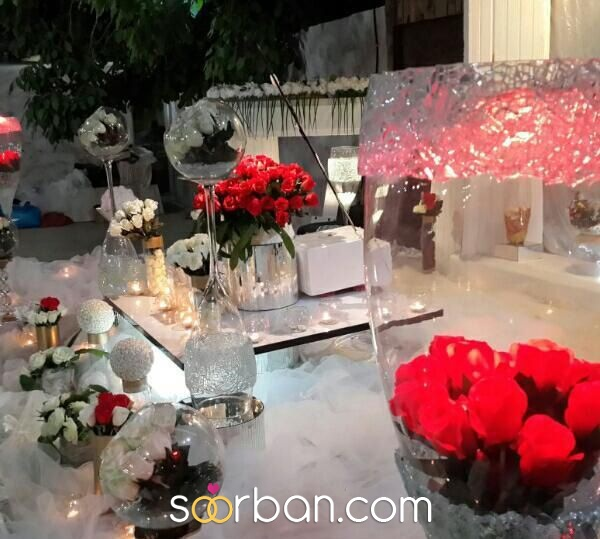 انواع سفره عقد و لباس عروس در شیراز2