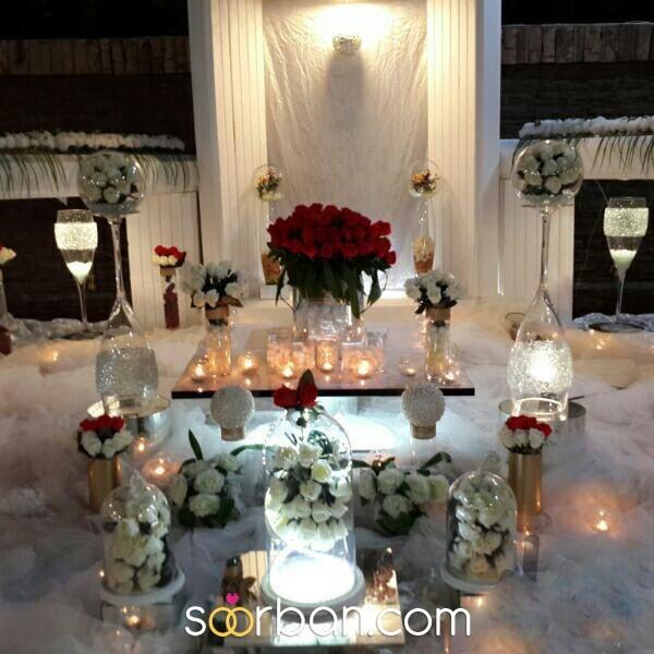 انواع سفره عقد و لباس عروس در شیراز1