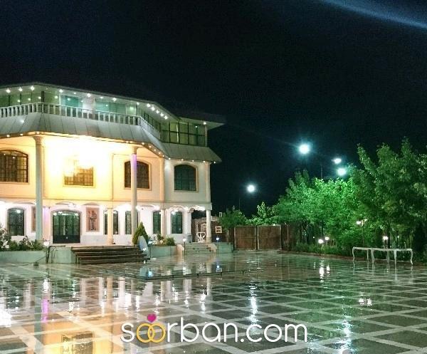 باغ تالار مجلل قصر سفید شیراز1
