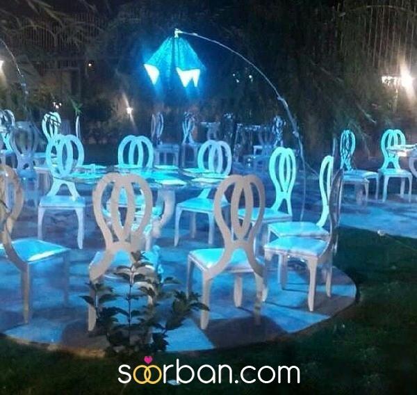 باغ تالار مجلل قصر سفید شیراز2