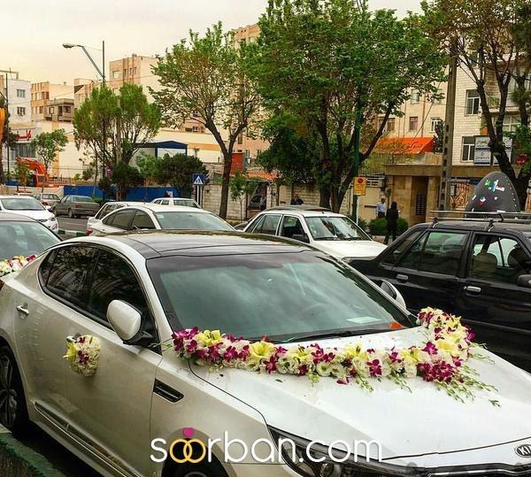 دسته گل و ماشین عروس در تهران1