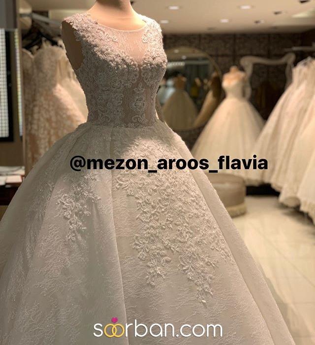 مزون لباس عروس فلاويا تهران1