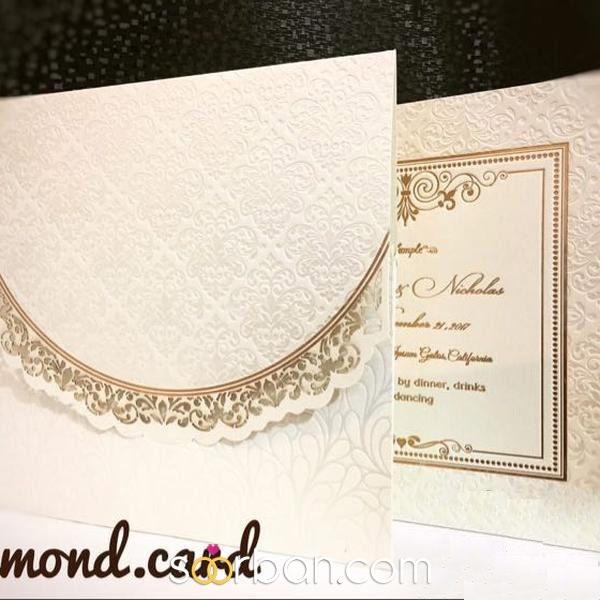 کارت عروسی دایموند0