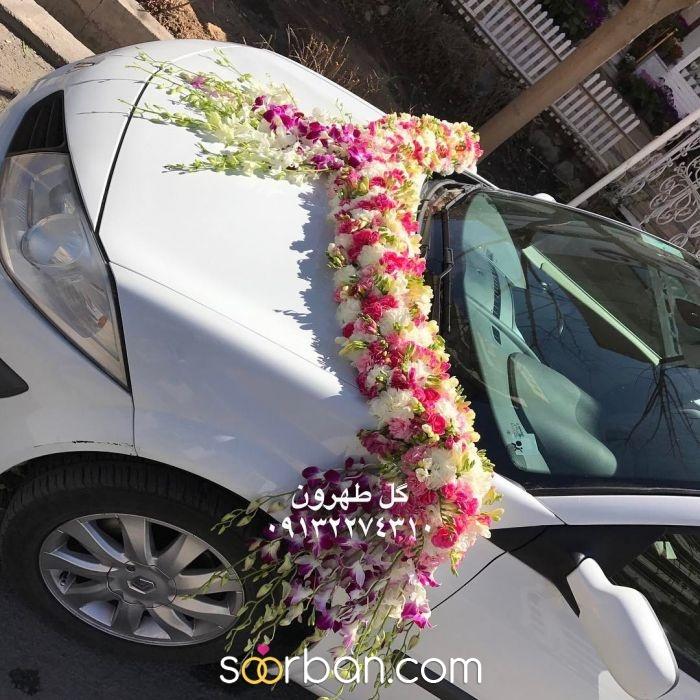 ماشین عروس گل طهرون اصفهان5