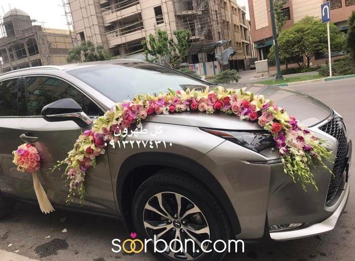 ماشین عروس گل طهرون اصفهان0