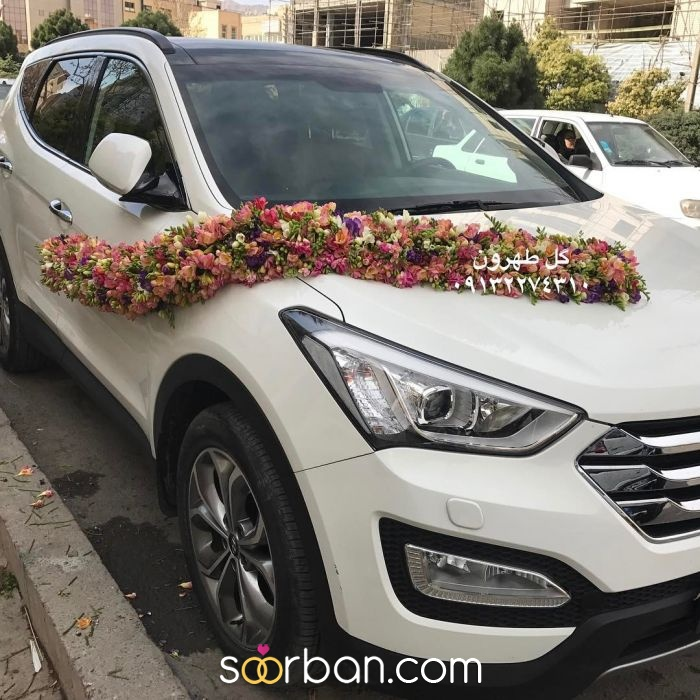 ماشین عروس گل طهرون اصفهان4