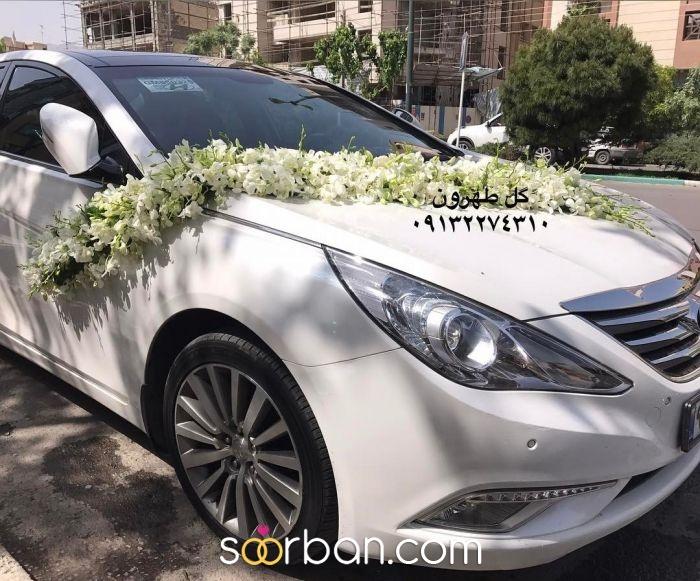 ماشین عروس گل طهرون اصفهان2