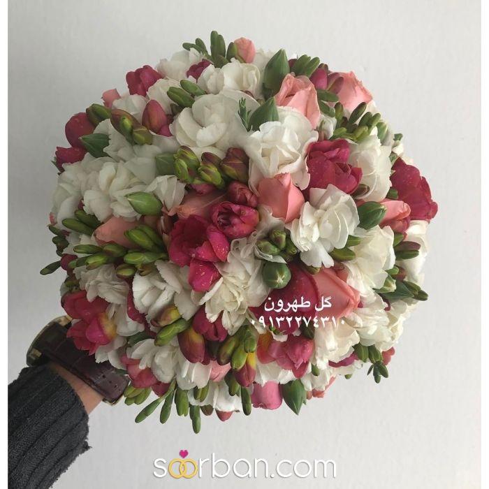 دسته گل عروس  اصفهان3