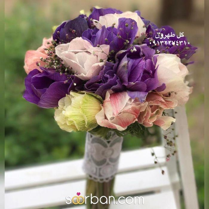 دسته گل عروس  اصفهان6
