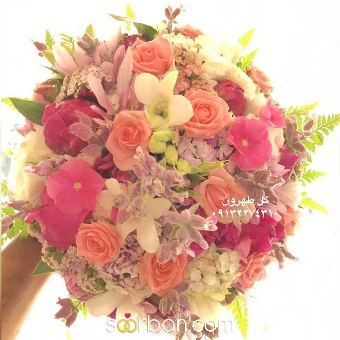 دسته گل عروس  اصفهان0