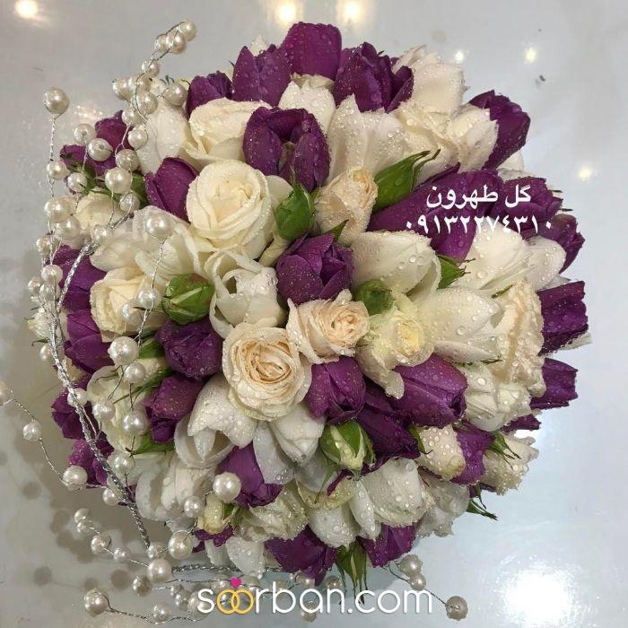 دسته گل عروس  اصفهان1