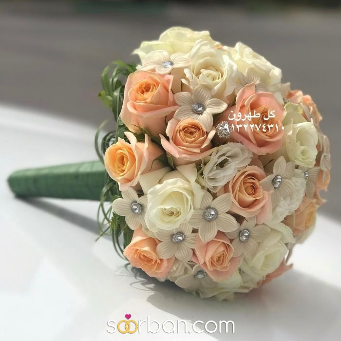 دسته گل عروس  اصفهان2