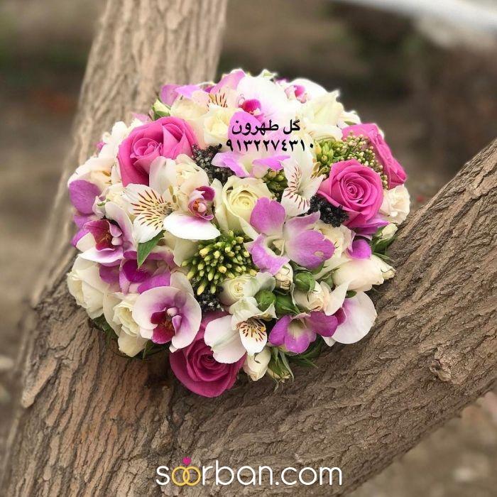 دسته گل عروس گل طهرون اصفهان4