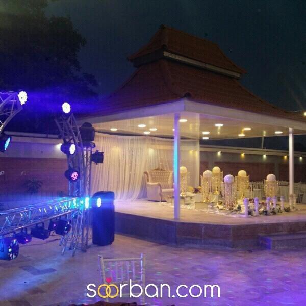 باغ تالار تاج محل شیراز