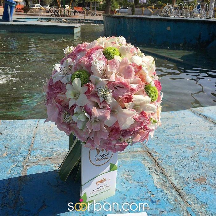 دسته گل عروس ژورنالی ملودی در تهران0