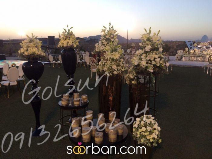 گل آرایی باغ گل سان اصفهان6