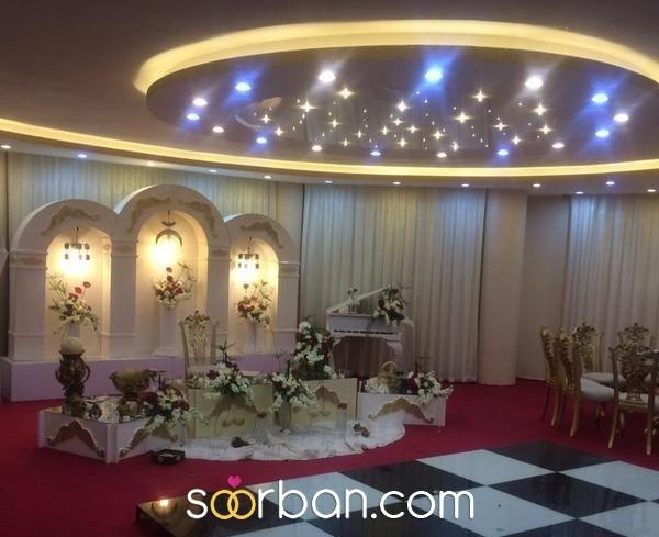 تالار پذیرایی سفید اصفهان2