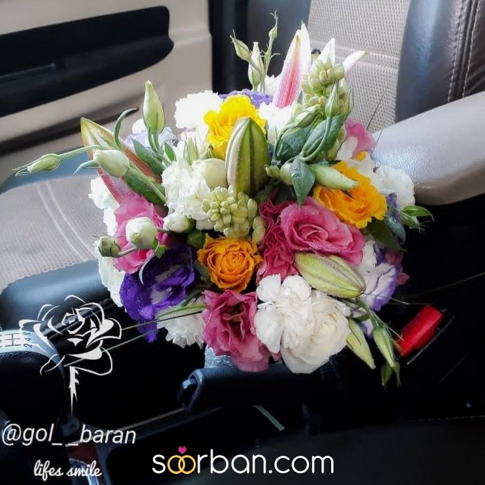 انواع دسته گل عروس خرم اباد6