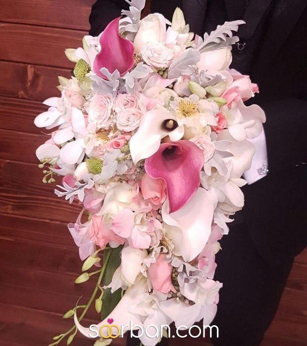 دسته گل عروس ژورنالی گلستان خاطره تهران0