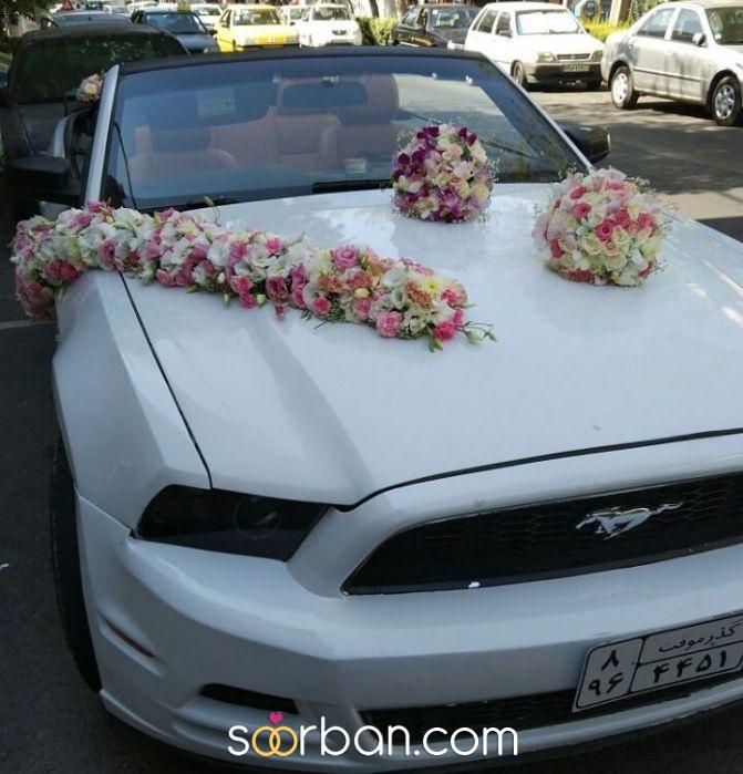 تزیین ماشین عروس گلستان خاطره تهران1