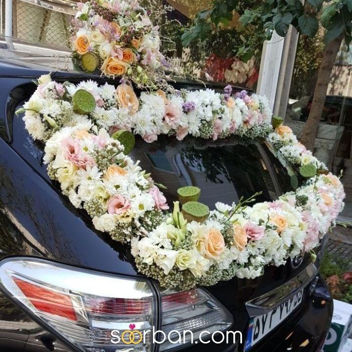 تزیین ماشین عروس گلستان خاطره تهران2