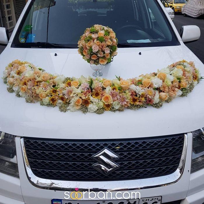 تزیین ماشین عروس گلستان خاطره تهران3