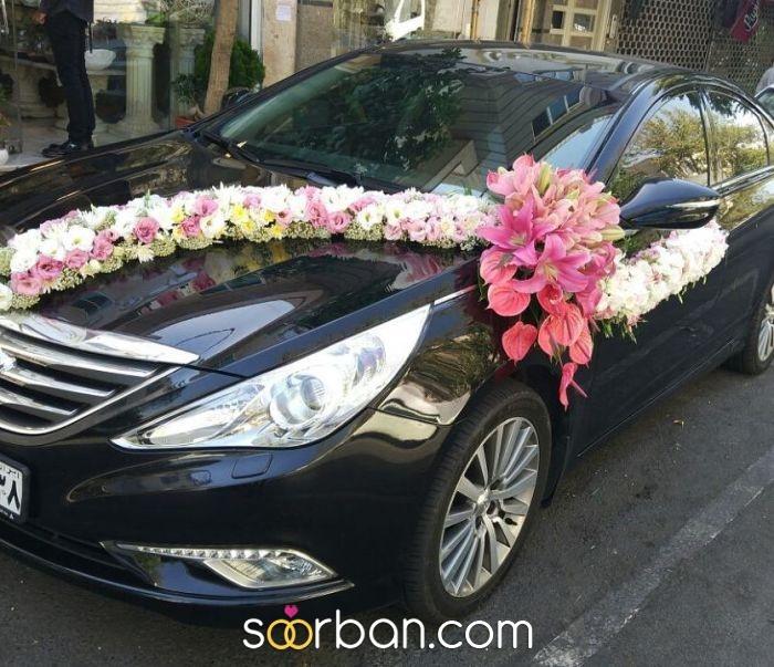 تزیین ماشین عروس گلستان خاطره تهران0