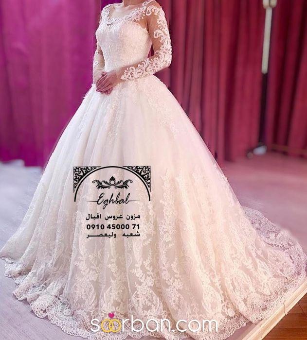 مزون لباس عروس اقبال تهران2