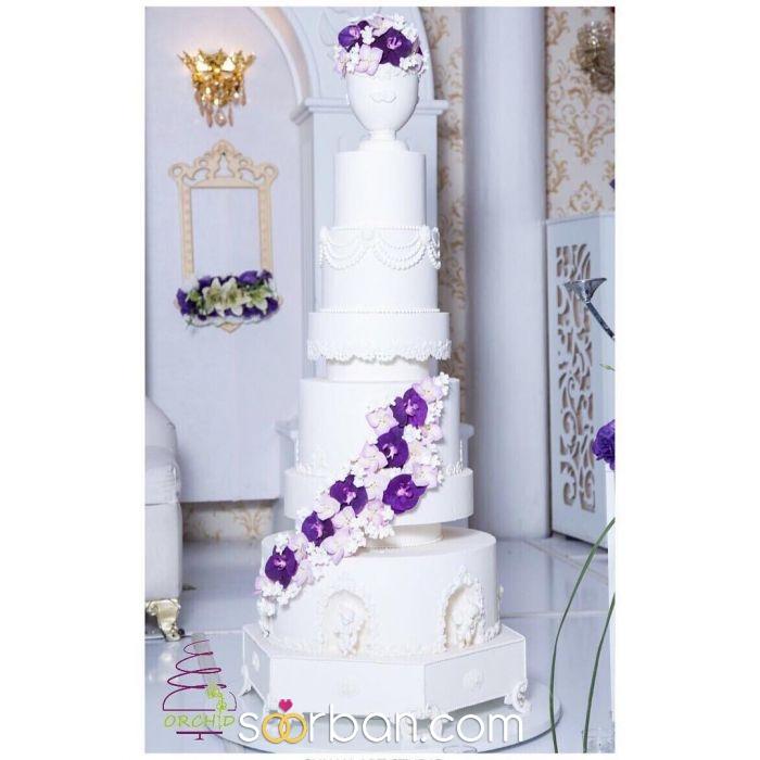 کیک ارکید اصفهان3