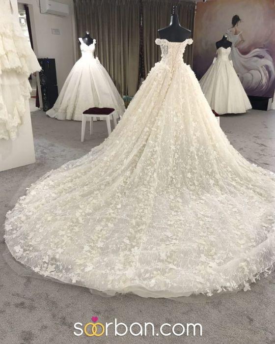 لباس عروس تاج محل تهران1