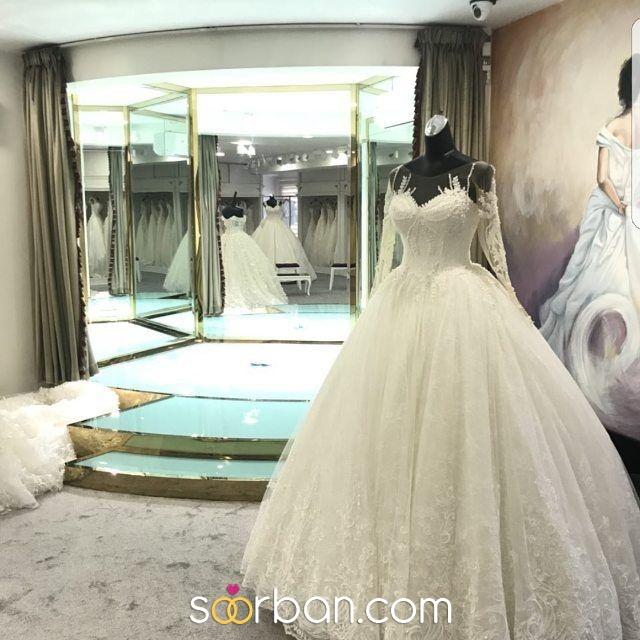 لباس عروس تاج محل تهران0