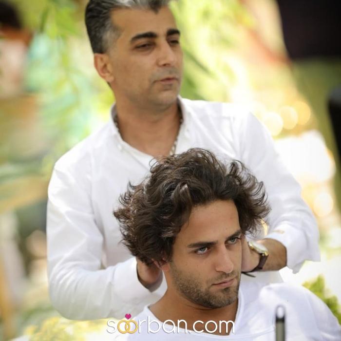 خدمات آرایش و پیرایش داماد کوروش اصفهان