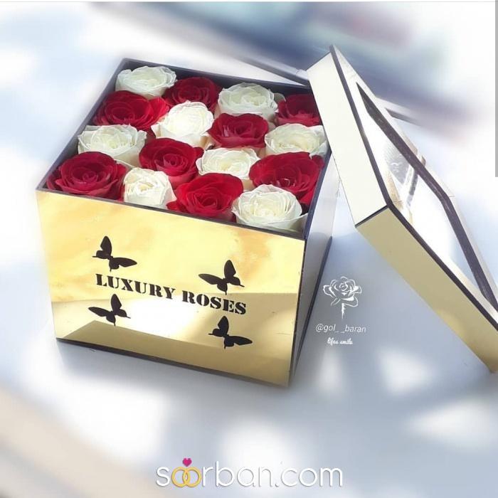ثبت سفارش انواع باکس گل خرم اباد3