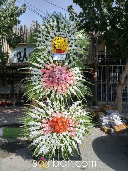 گل آرایی ویژه و خاص ماشین عروس شاهین شهر1