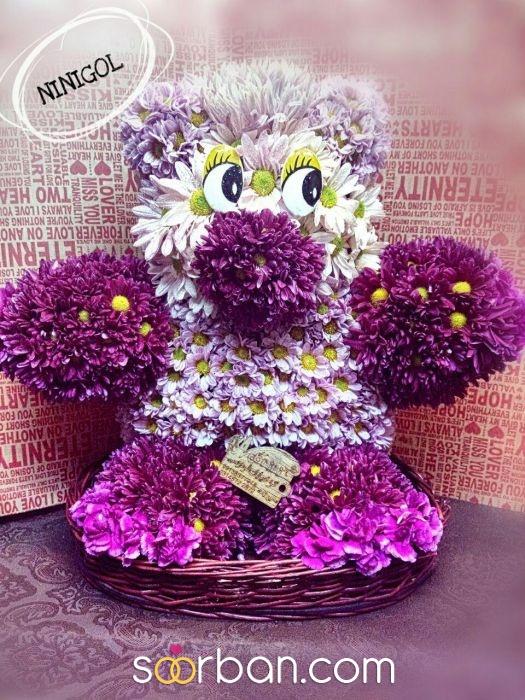 گل آرایی ویژه و خاص ماشین عروس شاهین شهر2