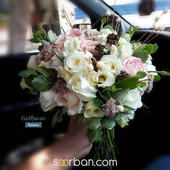انواع دسته گل عروس خرم اباد11