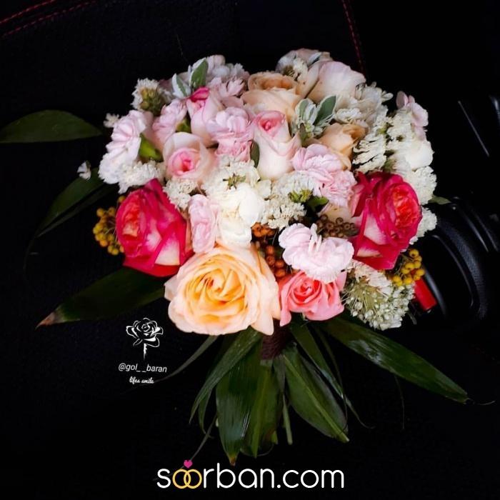 انواع دسته گل عروس خرم اباد8
