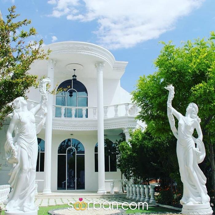 باغ عمارت عکاسی کاخ قم0