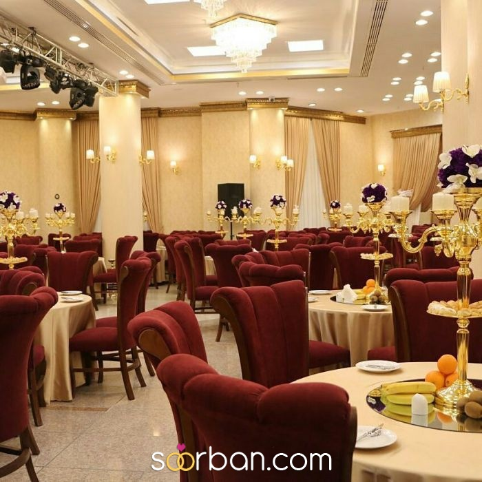 تالار پذیرایی مجموعه تالارهای قصر آریو تهران2