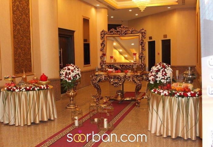 تالار پذیرایی مجموعه تالارهای قصر آریو تهران3