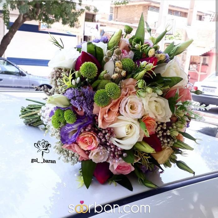 انواع دسته گل عروس خرم اباد10