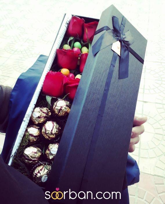 ثبت سفارش انواع باکس گل خرم اباد13